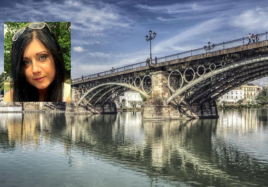 Puente de Triana, o poloneza a cazut de pe pod