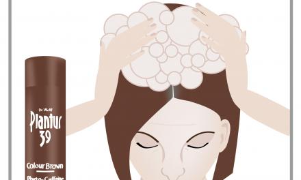 Îngrijirea părului acasă, cu efect de șampon nuanțator